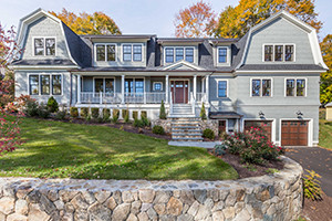 New Hillside Shingle Style House